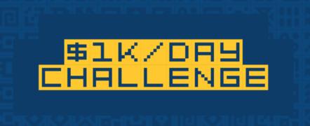 Duston Mc Groarthy – The $1KDay Challenge – Value $297