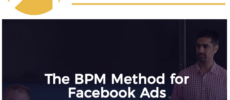[GB] Depesh Mandalia – The BPM Method (Facebook Ads 2020)