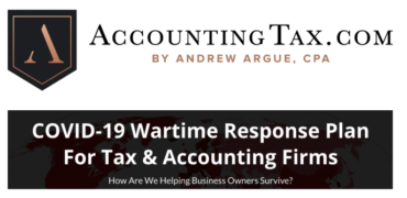 Andrew Argue – AccountingTax Programs + COVID 19 Consulting