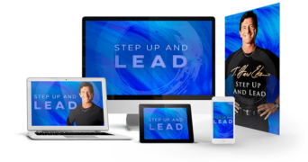 T. Harv Eker – Step Up And Lead – Value $177