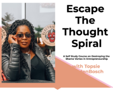 [GB] Temitope VandenBosch – Escape the Thought Spiral Course
