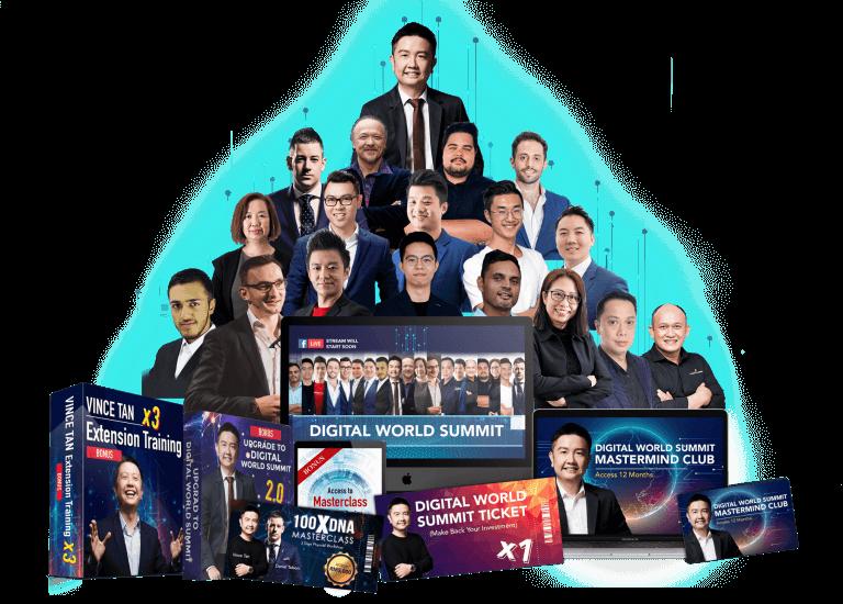 Vince Tan – Digital World Summit