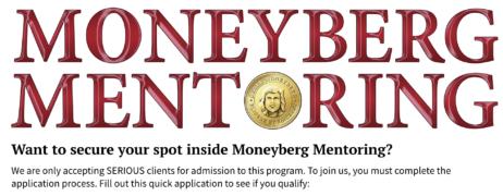 Derek Moneyburg – Moneyburg Mentoring