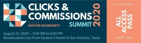 Duston McGroarty – Clicks & Commissions Summit 2020