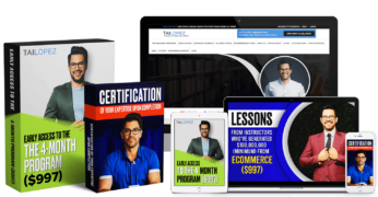 Tai Lopez – Ecommerce Specialist Certification – Value $497