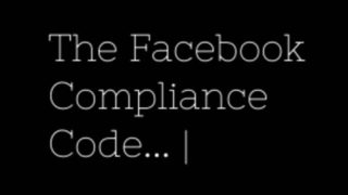 [GB] Ed Reay – The Facebook Compliance Code