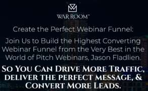 Jason Fladlien – Webinar Funnels (Warroom Mastermind) – Value $1995