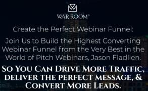 Jason Fladlien – Webinar Funnels (Warroom Mastermind) – Value $1995