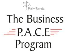 Rajiv Talreja – The PACE Program