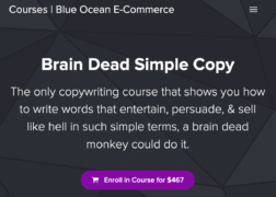 Nate Schmidt – Brain Dead Simple Copy – Value $467