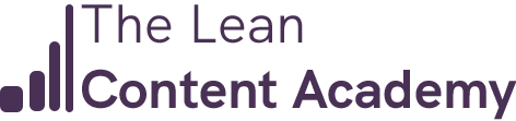 The Lean Content Academy