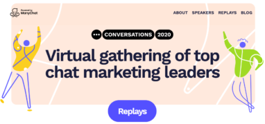 ManyChat – Conversations 2020 – Value $99