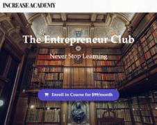 Sean Vosler – Entrepreneur Club + Bonus
