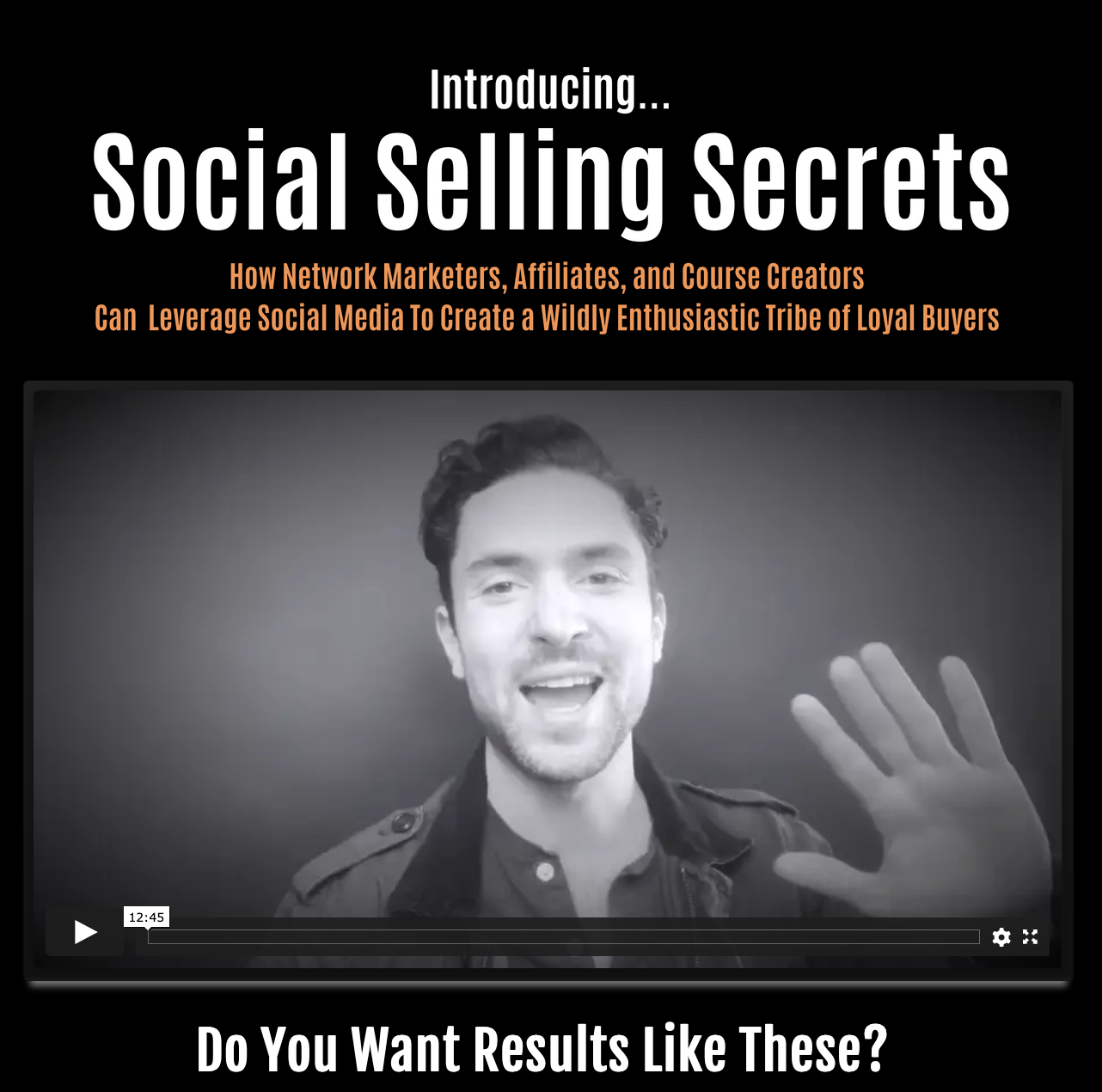 William James – Social Selling Secrets