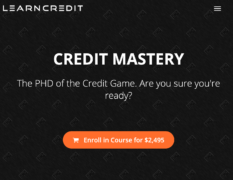 Stephen Liao – Credit Mastery – Value $2495