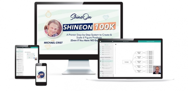 Michael Crist – Shine On 100k