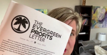 Hustle & Flowchart – Evergreen Profits Newsletter 2020-2021 – Value $59