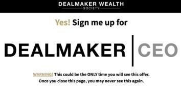 [GB] Carl Allen – Dealmaker CEO 2021