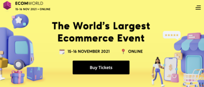 EcomWorld Conference 2021 – Value $76