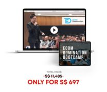 Tan Brothers – Ecom Domination Bootcamp – Value $697